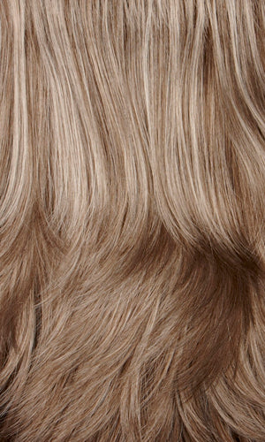 Henry Margu Wigs | 38H | Light brown mixed with 50% grey on top and 25% grey in back