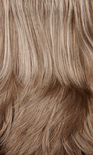 Henry Margu Wigs | 38H Light brown mixed with 50% grey on top and 25% grey in back
