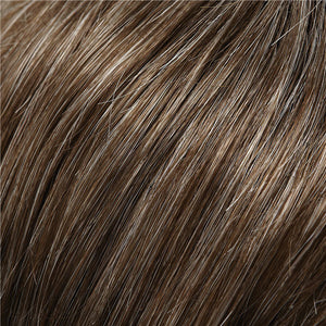 Allure Wig by Jon Renau MEDIUM BROWN W 35% GREY (38)