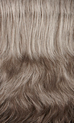 Henry Margu Wigs | 44H Medium brown mixed with 50% grey on top and 25% grey in back