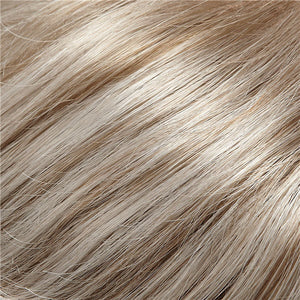 Jon Renau Wigs - Color LIGHT BROWN W 75% GREY & PEARL WHITE TIPS (48T)