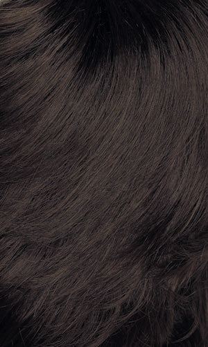 Henry Margu Wigs | 4GR | Dark brown with medium brown highlights and black roots
