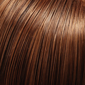 Jon Renau Wigs | 4/27/30 | Dark Brown, Light Red-Gold Blonde and Red-Gold Blend