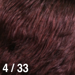 Dream USA Wigs | 4-33 Dark Brown (4) frosted with Burgundy (33)