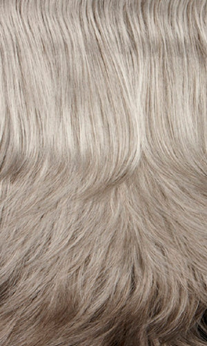 Henry Margu Wigs | 51H | Light grey mixed with 25% medium brown on top and 50% medium brown in back