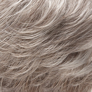 Jon Renau Wigs - Color LIGHT GREY WITH 20% MEDIUM BROWN FRONT, GRADUATING TO GREY WITH 30% MED BROWN NAPE (56F51)
