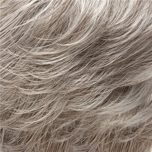 Allure Wig by Jon Renau GREY W 5% MEDIUM BROWN FRONT & GREY WITH 30% MEDIUM BROWN NAPE (56F51)