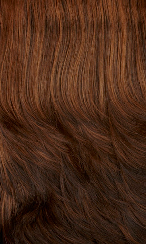 Henry Margu Wigs | 5H | Dark brown with strawberry highlights