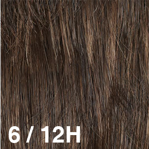 Dream USA Wigs | 6-12H Medium Chestnut Brown (6) highlighted with Light Brown (12)