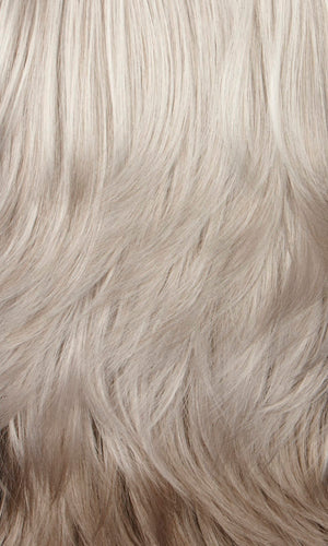 60H | Silver white on top mixed with 25% light brown in back