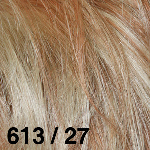 Dream USA Wigs | 613-27 Strawberry Blonde (27) frosted with Bleach Blonde (613)