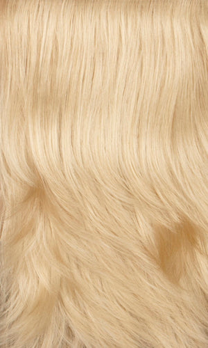 614H - Light wheat blonde with light gold blonde highlights