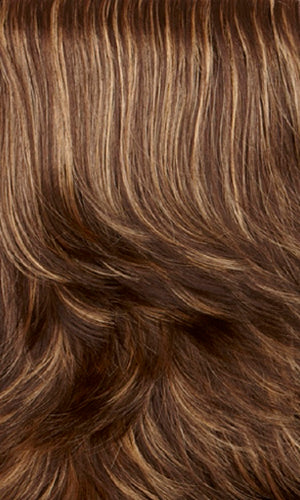 Henry Margu Wigs | 626H | Dark brown with golden blonde highlights