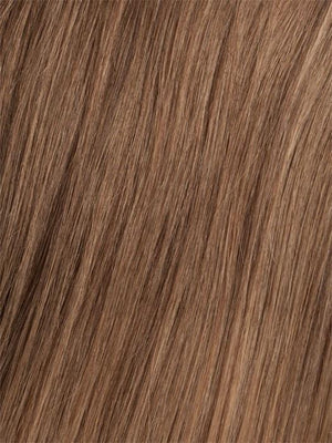 6/30T Medium Chestnut Brown Blended with Medium Auburn Medium Auburn Tips