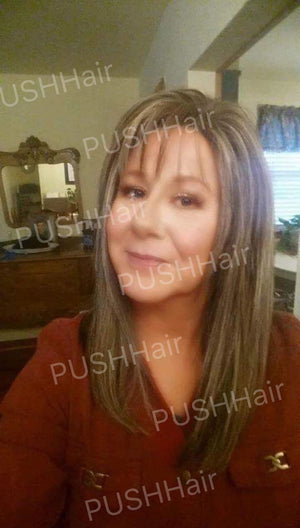PUSH Wigs | Terri wearing color 6/12/14