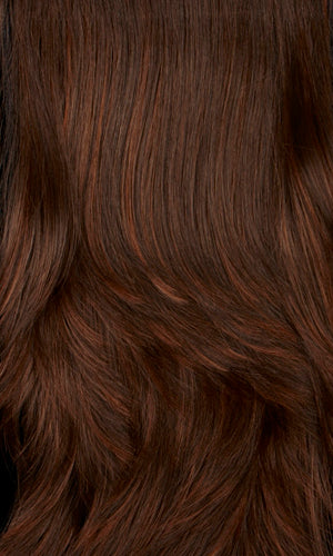 6H | Chestnut brown with auburn highlight