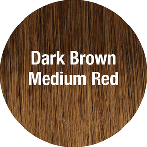 TressAllure Wigs | Dark Brown Medium Red