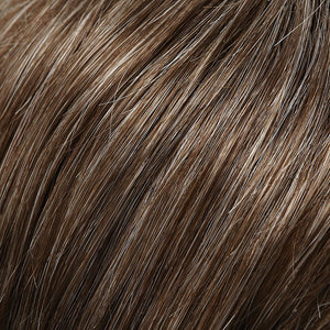 Jon Renau Wigs | MEDIUM BROWN W 35% GREY (38)