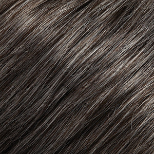 Jon Renau Wigs - Color DARK BROWN W 65% GREY (44)
