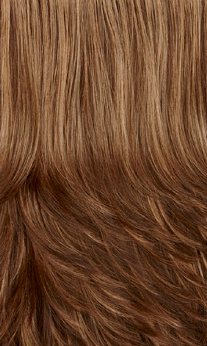 Henry Margu Wigs | 7H | Chocolate brown with carmel highlights