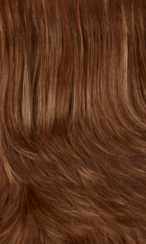 Henry Margu Wigs | 8/14H Medium & dark brown with dark blonde & subtle auburn highlights
