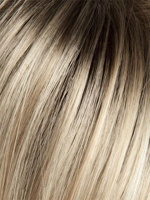 263R CRÈME BRULE | Medium Golden Blonde with Light Blonde highlights and Dark Blonde roots