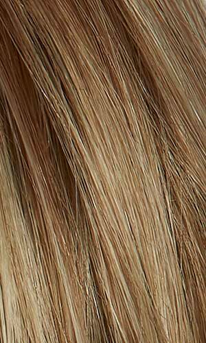 Henry Margu Wigs | 88GR | Light wheat blonde with dark strawberry blonde highlights and dark brown roots