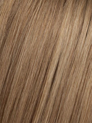 8/14T | Light Chestnut Brown Blended with Dark Ash Blonde Dark Ash Blonde Tips
