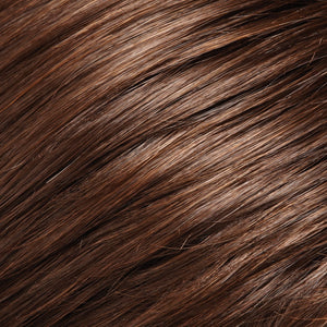 Jon Renau Wigs | 8/32 | Medium Brown and Medium Natural Red Blend