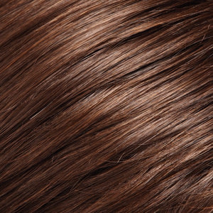 Jon Renau Wigs | 8/32 COCOA BEAN | Med Brown & Med Natural Red Blend