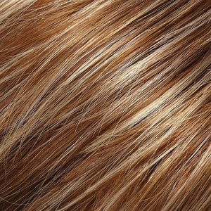 Jon Renau Wigs | FS26/31 | Medium Red-Gold Brown and Light Gold Blonde Blend with Light Gold Blonde Bold Highlights