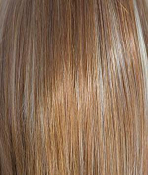 Rene of Paris Wigs | APRICOT-FROST | Bright Copper base with a Strawberry Blonde highlight
