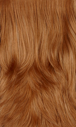 APRICOT-Dark strawberry blonde with dark blonde highlights