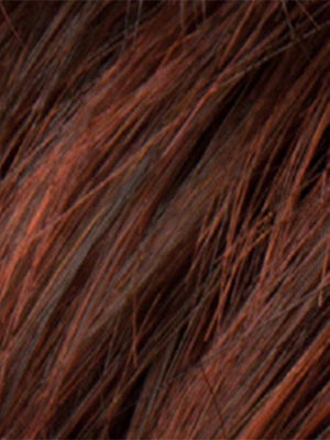 Ellen Wille Wigs | AUBURN MIX | Dark Auburn, Bright Copper Red, and Warm Medium Brown blend