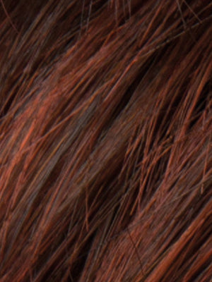 Ellen Wille Wigs | AUBURN ROOTED Dark Auburn Bright Copper Red  and Warm Medium Brown Blend