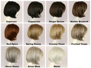 Alana by Godiva Secret Wigs Color Chart