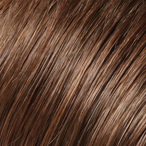 Jon Renau Wigs | 6/33  | Dark Brown and Medium Red Blend