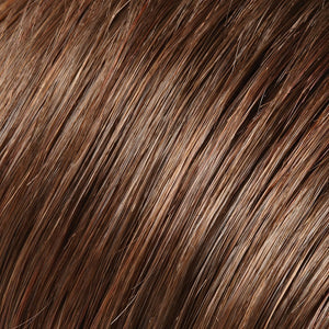 Jon Renau Wigs - Color BROWN & DARK RED BLEND (6/33)