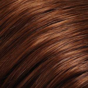 Jon Renau Wigs - Color BROWN RED (30A)