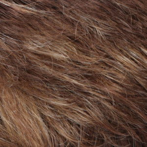 Estetica Wigs | CARAMELKISS Golden Brown with Light Copper Blonde Highlights