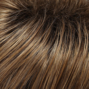 Jon Renau Wigs - Color CARAMEL BLONDE LT BROWN BLEND, SHADED W DARK BROWN (1026TTS4)
