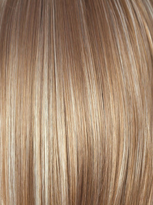 Rene of Paris Wigs | CHAI CREAM | Honey Brown base with a Platinum Blonde highlight
