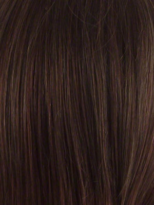 Envy Wigs | CINNAMON RAISIN | Medium Brown with Auburn and Cinnamon highlights