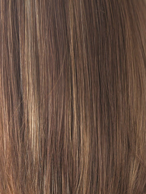 Rene of Paris Wigs | COCONUT SPICE | Light Red Brown base with Honey Blonde highlight
