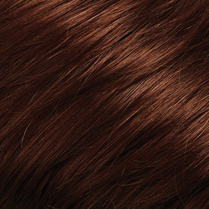 Bree Open Top Wig by Jon Renau COPPER RED AND AMBER RED BLEND (130_31)