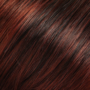 Angelique Large Wig by Jon Renau COPPER RED & DARK BROWN BLEND W COPPER RED TIPS (130/4)