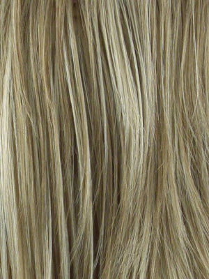 CREAMY TOFFEE Dark Blonde Evenly Blended with Light Platinum Blonde and Light Honey Blonde