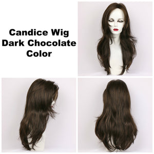 Godiva Secret Wigs | Dark Chocolate