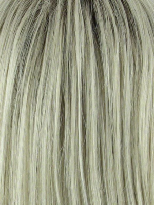 Champagne-R | Rooted Dark with Platinum Blonde