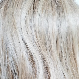 BelleTress Wigs | Champagne with Apple Pie | 14R/16/613/103 | Light brown blonde root with a mixture of ash blonde, lightest blonde, pure blonde and light neutral blonde